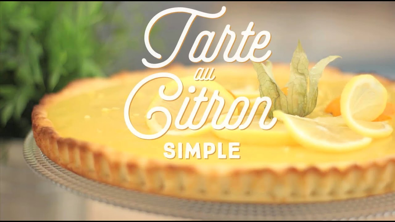 tarte au citron extra simple cuisineaz youtube. Black Bedroom Furniture Sets. Home Design Ideas