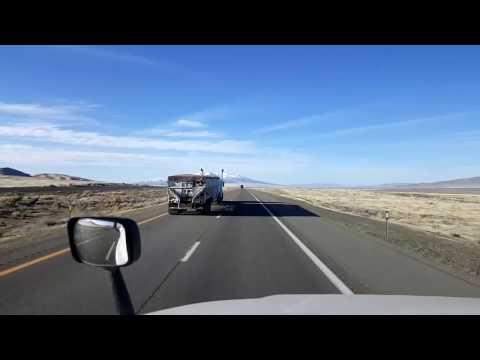 Bigrigtravels Live! - Winnemucca to Fernley, Nevada  - Interstate 80 West - March 16, 2017