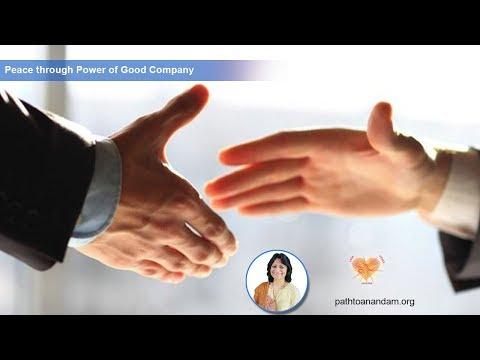 Day12: Peace through Power of Good Company SatyaKalra