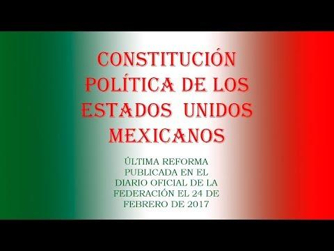 1 Constitución Política de los Estados Unidos Mexicanos Artículos 1 al 70
