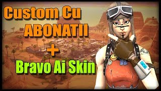 🔴 * Fortnite Romania * | Custom with subscribers + Bravo Ai Skin on Moderator | Live by Sunday # 26 🔴