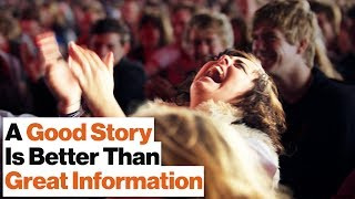Knowing How to Tell a Good Story Is Like Having Mind Control | Alan Alda