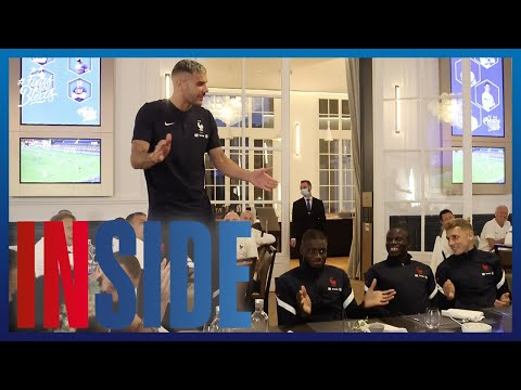 Le bizutage des nouveaux Bleus, Equipe de France I FFF 2021