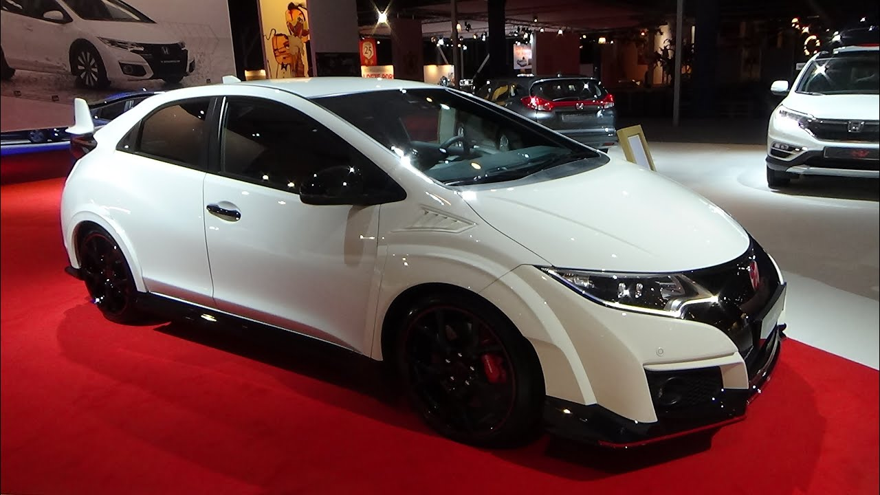 civic 2015 interior. 2015 honda civic type r exterior and interior auto show autorai amsterdam youtube