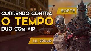 RUNNING AGAINST TIME-VIP DUO-443 WINS (Fortnite Battle Royale gratuit) [EN-BR]-Softe