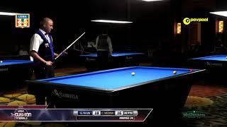 #29 - Gilbert NAJM vs Camilo MEDINA / 2018 USBA 3 Cushion National Championship