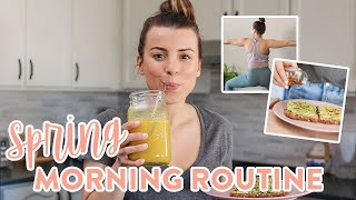 My Healthy Spring Morning Routine + Breakfast Recipe