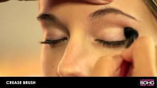 SOHO Silk Makeup Brush Collection - Crease Brush Thumbnail