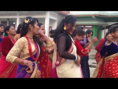 Chitwan Tharu wedding Dance
