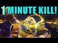 Destiny 2: KILL CALUS in 1 MINUTE! | Leviathan Raid Final Boss Guide