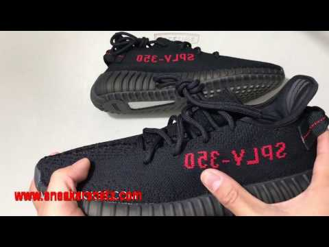 0ad2a0ff6059e DHGATE CANT BELIEVE I GOT THESE!!! Sneakersnetz.com Best UA Yeezy 350 Boost  V2  Bred