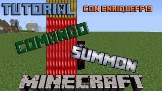 Tutorial Del Comando Summon!! \\ Minecraft 1.7.10 //