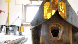 Daniel Rankin And His Homemade Birdhouses