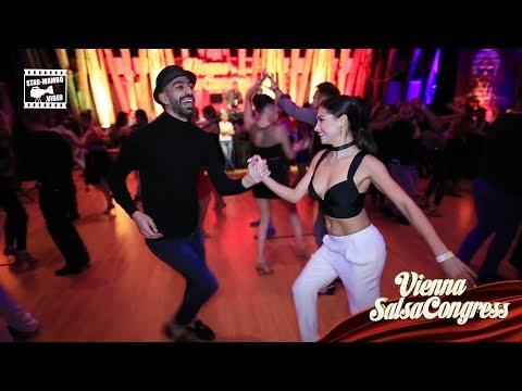 Panagiotis & Elena - social dancing @ Vienna Salsa Congress 2017