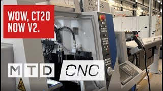 New Tornos CT20 Version II affordable precision - have you seen it?