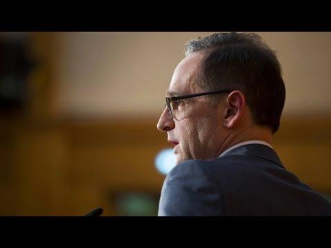 Außenminister Maas: Deutschland wird sich nicht wegducken