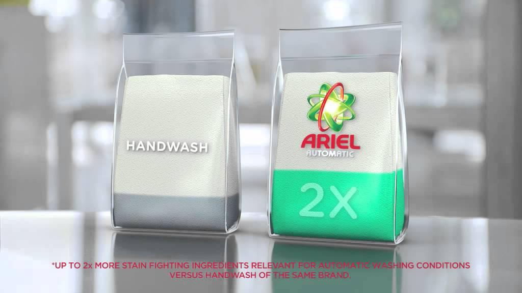 How Ariel Automatic Washing Machine Detergent Works