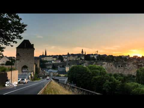 Sunset in Luxembourg [HDR - timelapse]