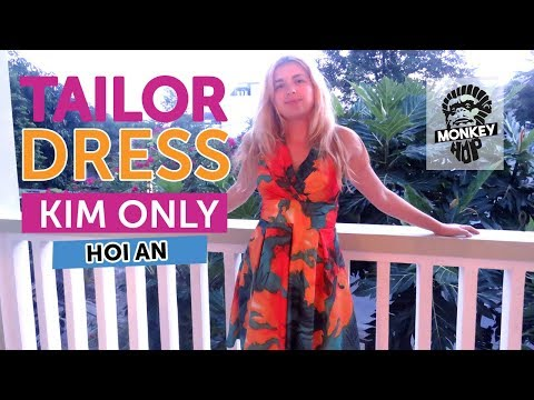 Tailored Dress with Kim Only Hoi An How To Travel Vietnam