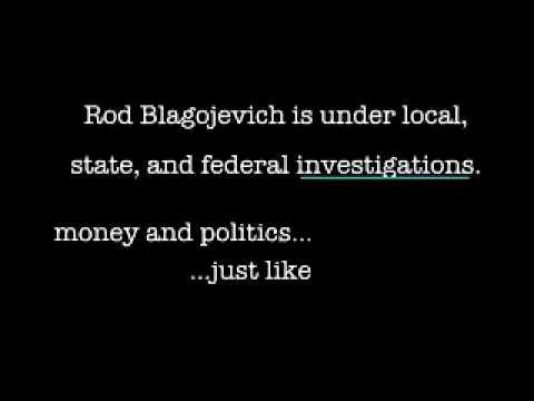 Illinois governor Blagojevich scandal- 2006 Eisendrath ad.wmv
