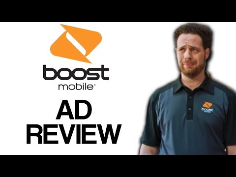 BOOST MOBILE - AD REVIEW