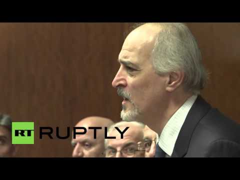Switzerland: UN talks with Syrian govt delegation kick-off in Geneva