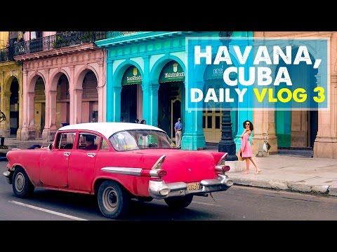 CUBA DAILY VLOG 03: Beach, Shopping, & Salsa!   Day 3 in Cuba