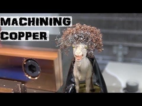 Copper scares me | 1st CNC attempt