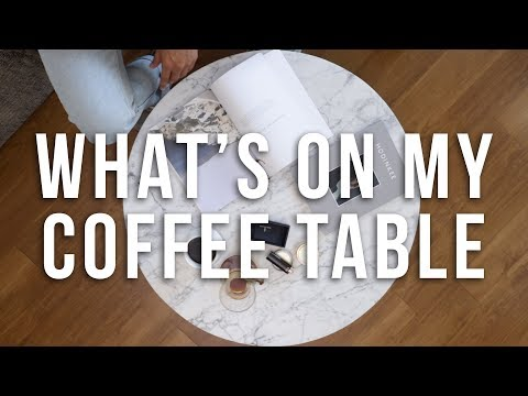 What's On My Coffee Table   Men's Lifestyle
