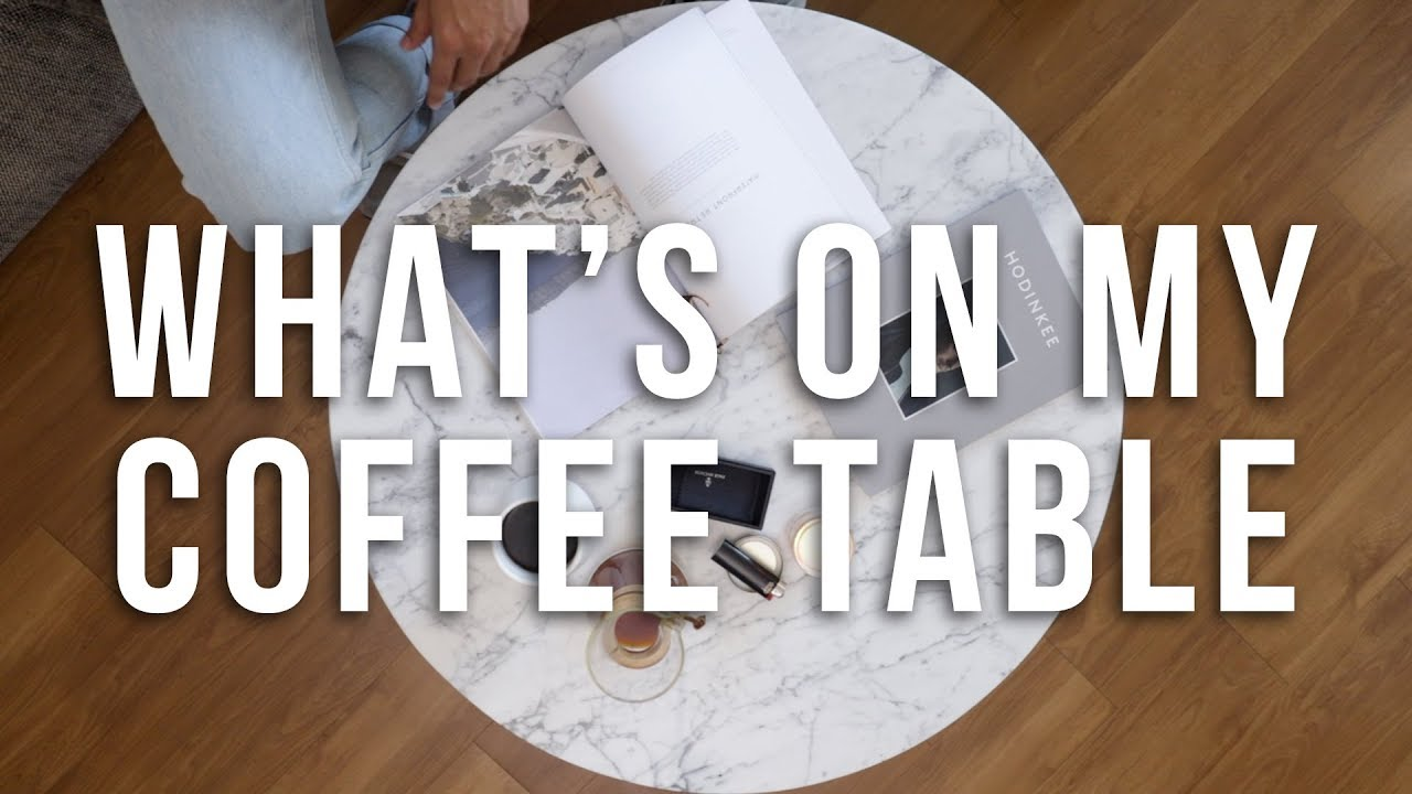 Download What's On My Coffee Table   Men's Lifestyle