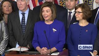 Speaker Pelosi announces USMCA Trade Agreement