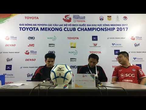 TMCC 2017 Final (1st Leg) Post-match Press Conference - SCG Muangthong United FC