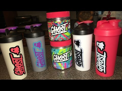 REVIEW/Unboxing | Ghost Aminos & Shaker Cups