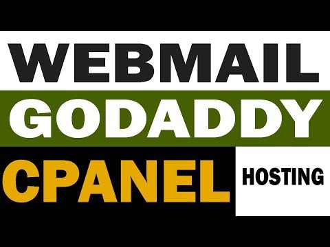 Webmail Creation in GoDaddy CPanel 2017