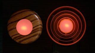 Woodturning with Tim Yoder-Acrylic & Wood Nightlights