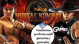 PCSX2 Mortal Kombat Shaolin monk 60fps | Emulacion perfecta| mejor configuracion