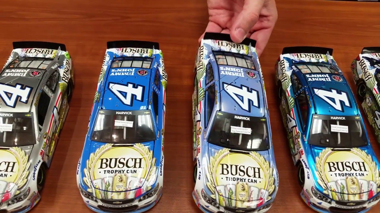 Lionel Racing Kevin Harvick 2016 Busch Beer 1:24 Raw Nascar Diecast