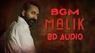 Malik BGM 8D Audio 🎧  Raheemun Aleemun song  DJ Jobzz  Sushin Shyam