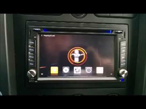 Mustang GT with Android Touchscreen Radio - YouTube