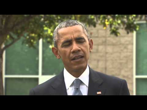President Obama makes statement at Roseburg High School - Oct 9 2015