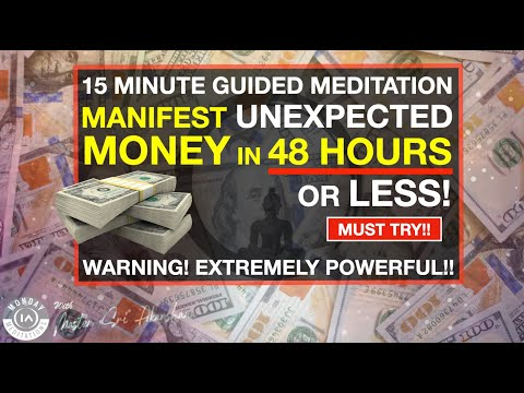 Manifest UNEXPECTED Money in 48 Hours or Less | Guided Meditation [Extremely Powerful!!]