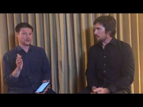 "Christian Bale talks with Kevin Polowy from Yahoo Movies about ""The Promise"""