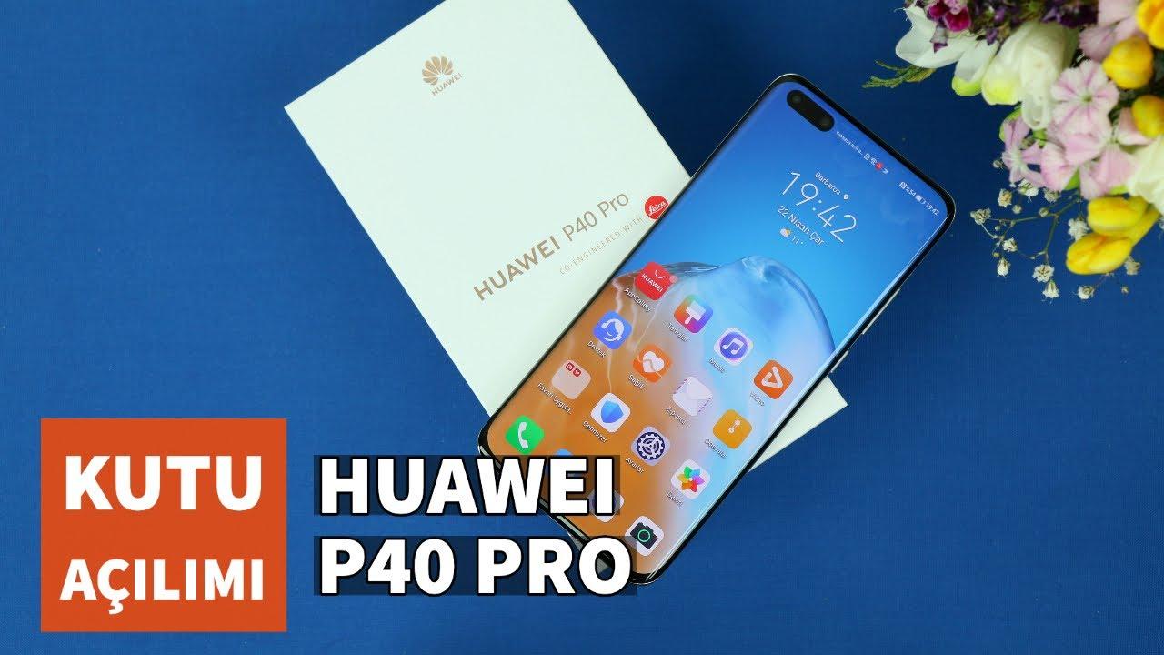 Huawei P40 Pro Kutu Açılımı: Kutu içeriği ve ilk izlenimler
