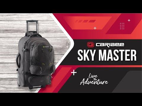 Caribee Sky Master 70   80 travel packs - YouTube 1d8f46a60d82b