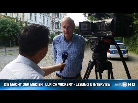 DIE MACHT DER MEDIEN | ULRICHT WICKERT - LESUNG & INTERVIEW