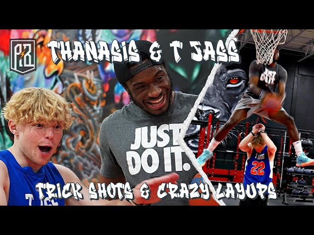 1 on 1 with Tristan Jass - YouTube sensation and ESPN feature | Trick shots, crazy dunks and more!