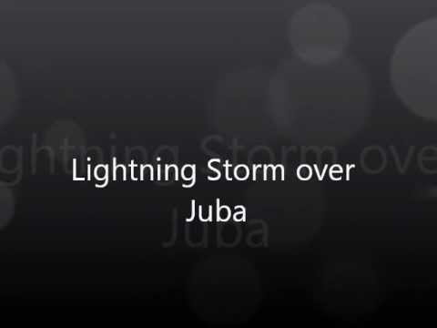 Lightning Storm over Juba South Sudan