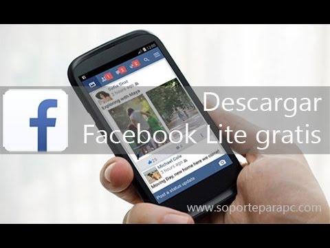 descargar facebook lite sin saldo