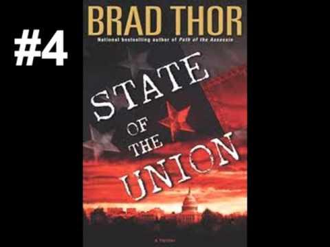 Brad Thor - 10 Best Books