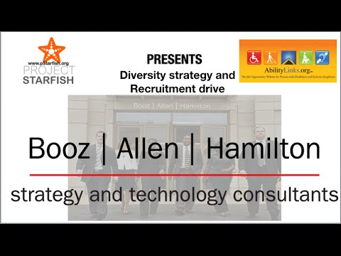Project Starfish, Booz Allen & Ability Links discuss: Diversity Strategy and Recruitment